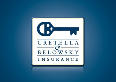 Cretella Belowsky Insurance Logo Design and Identity