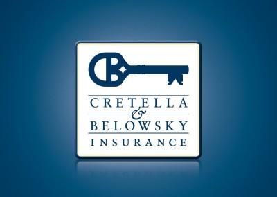 Cretella Belowsky Insurance Logo Design and Identity