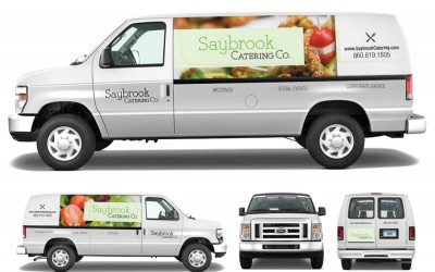 Saybrook Catering Identity & Vehicle Graphics