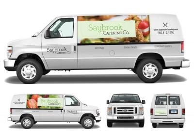 Saybrook Catering Identity & Vehicle Graphics