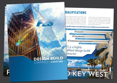 Practical Energy Solutions Pocket Folder Design