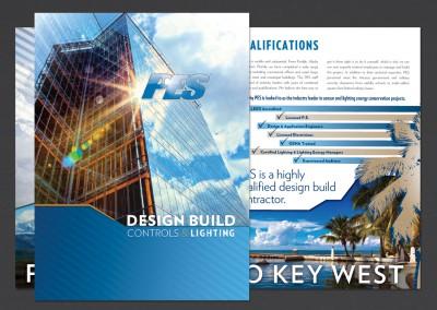 Practical Energy Solutions Pocket Folder Design