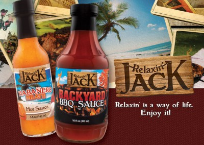 Relaxin' Jack Identity & Package Design