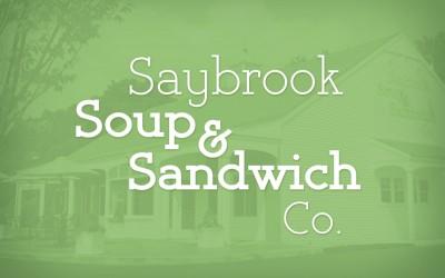 Saybrook Soup & Sandwich Logo Design