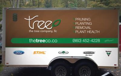 The Tree Company Identity & Vehicle Graphics
