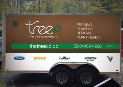 The Tree Company Identity & Vehicle Graphics